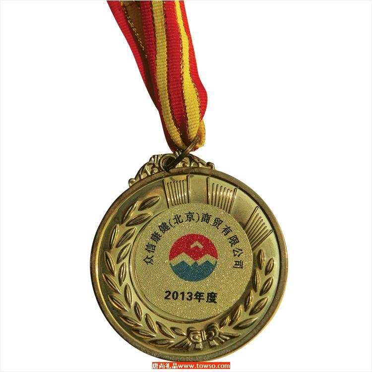 学校运动会发的锌合金运动奖牌 纪念章 奖章 徽章