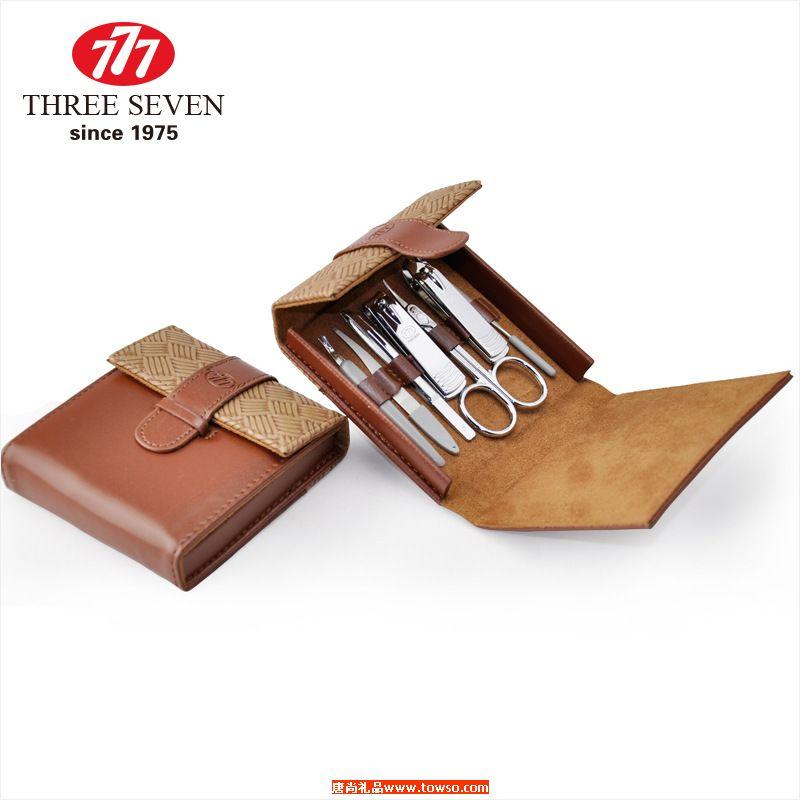 正品韩国777礼品美甲工具套装指甲刀7件套 原装进口碳钢指甲剪