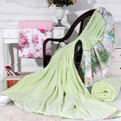 芬芳竹韵毯