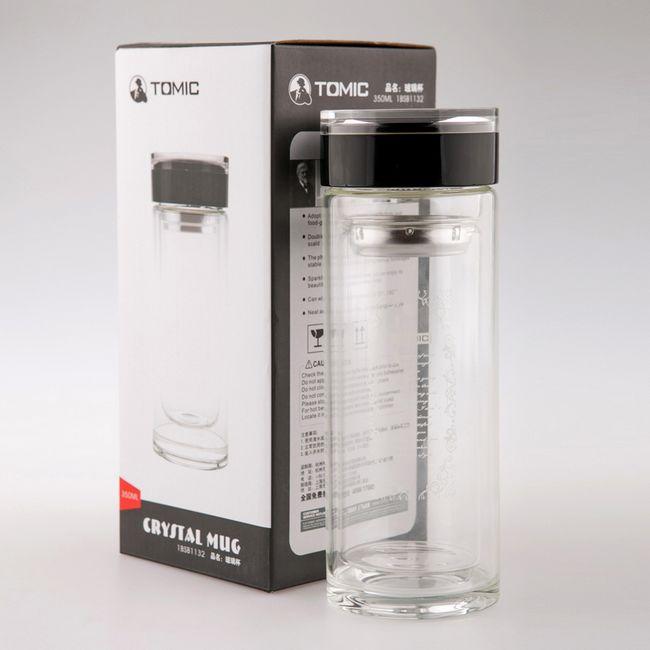 特美刻 商务双层水晶玻璃杯1BSB1132