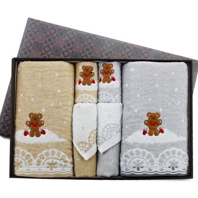 洁丽雅毛巾浪漫季节-7