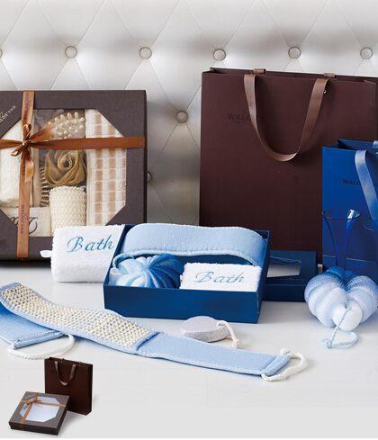 健康浴具生活组合八件套(二)咖啡包装HX2014-055