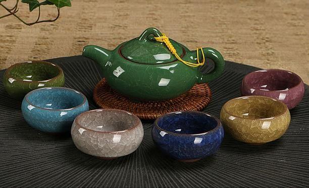 冰裂茶具 茶具套装陶瓷功夫茶具台湾 茶具