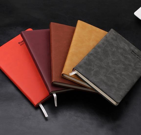 创意笔记本本子商务笔记本定制a5平装pu本子