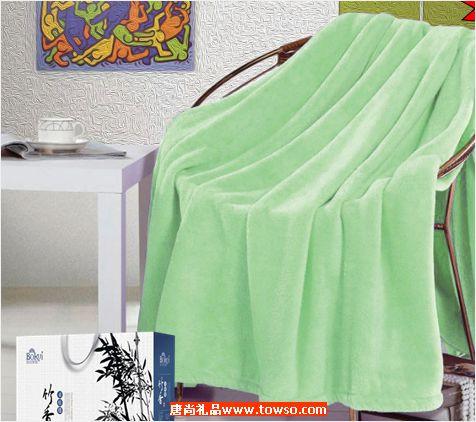 竹香柔肤毯