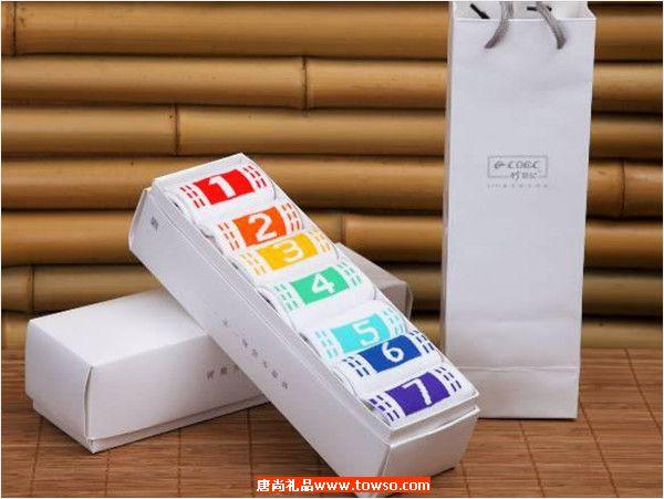 千年竹  特色礼盒系列七彩袜礼盒 WXQ-01