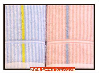 三利毛巾缤纷色彩系列2条装