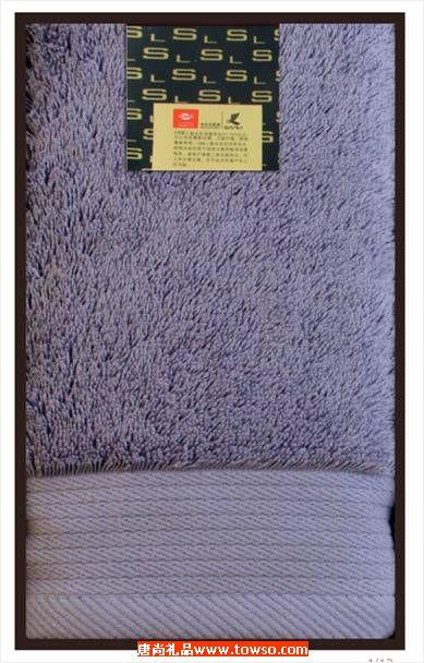 三利毛巾长绒棉系列1条装