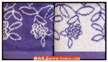 三利毛巾青花瓷系列2条装
