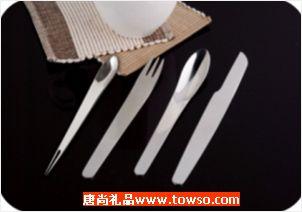 组合餐具套装(刀叉勺水果叉四件套)