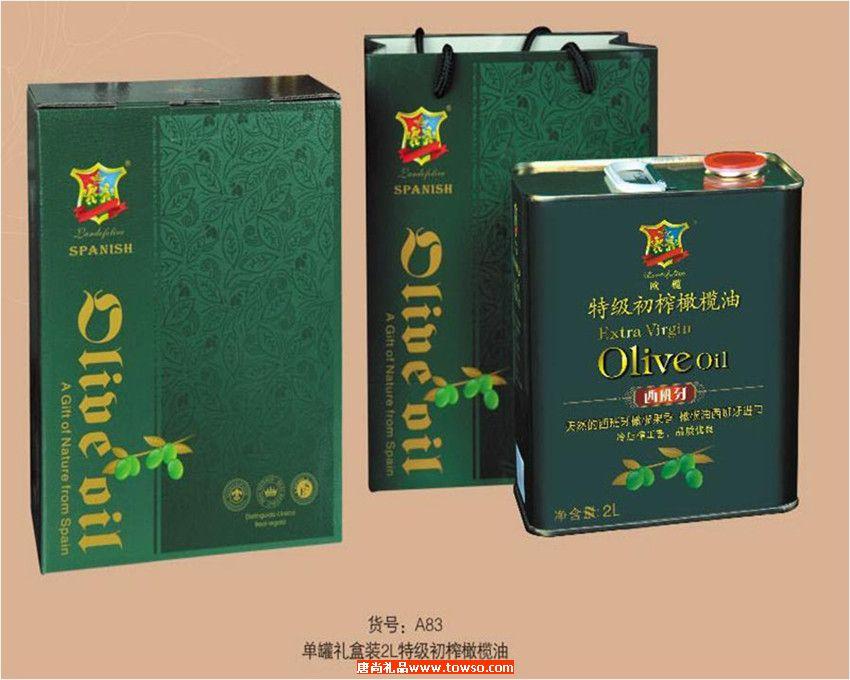 欧榄 2L精品礼盒C  1*2L特级初榨橄榄油 A83