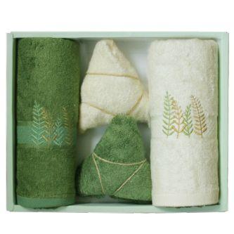 洁丽雅毛巾粽情巾世—2
