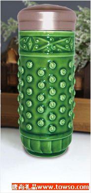 大乾坤随身杯绿釉