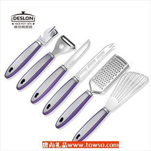 德世朗厨房小工具蔬果刀煎铲果心器刨丝器瓶罐启刨刀煎刨铲水果刀