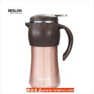 德世朗魅族多用不锈钢真空壶1200ml咖啡壶时尚家居保温壶保温水壶