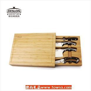 德世朗德国钼钒钢厨房刀具五件套正品 LY-TZ001-5