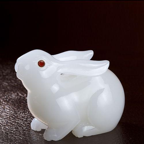 玉兔迎祥 中号