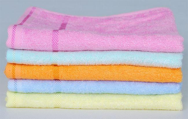 正品洁丽雅6245竹纤维毛巾童巾