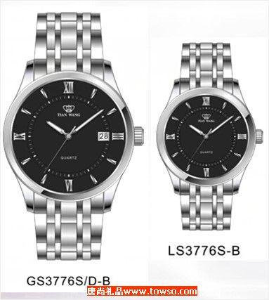 天王表GS3776S/D-B  LS3776S/D-B情侣表
