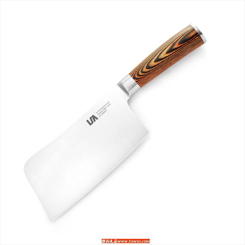 堡莱系列PRO-2PCS砍骨刀三德刀