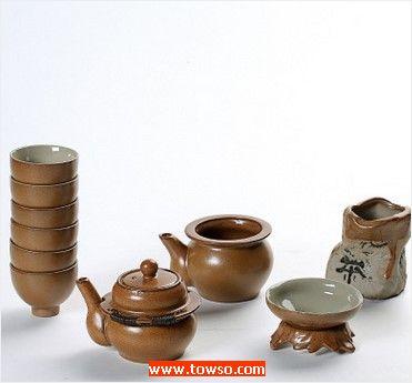 仿古窑变茶具